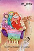 Interlitho, Soledad, CHRISTMAS CHILDREN, naive, paintings, 3 kings, camel, boy(KL2293,#XK#) Weihnachten, Navidad, illustrations, pinturas