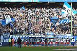 05.10.2019,  GER; 2. FBL, Hamburger SV vs SpVgg Greuther Fuerth ,DFL REGULATIONS PROHIBIT ANY USE OF PHOTOGRAPHS AS IMAGE SEQUENCES AND/OR QUASI-VIDEO, im Bild die Mannschaft des HSV jubelt ueber den Sieg Foto © nordphoto / Witke