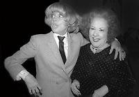 Carol Channing Ethel Merman 1980<br /> Photo by Adam Scull/PHOTOlink