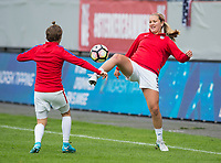 Sandefjord, NOR - June 11, 2017: The USWNT defeated Norway 1-0 during their international friendly at Komplett Arena.