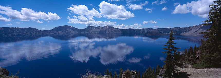 Crater Lake National Park is located in southern Oregon. Established in 1902, Crater Lake National Park is the fifth oldest national park in the United States and the only one in the state of Oregon. Photograph by Peter E. Randall.