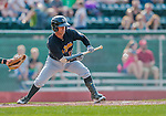 12 July 2015: West Virginia Black Bears designated hitter Ulises Montilla in action against the Vermont Lake Monsters at Centennial Field in Burlington, Vermont. The Lake Monsters rallied to defeat the Black Bears 5-4 in NY Penn League action. Mandatory Credit: Ed Wolfstein Photo *** RAW Image File Available ****