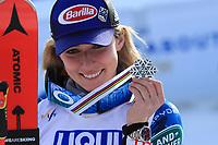 18th February 2021; Cortina d'Ampezzo, Italy; FIS Alpine World Ski Championships 2021 Cortina Women's Giant Slalom; Mikaela Shiffrin (USA)