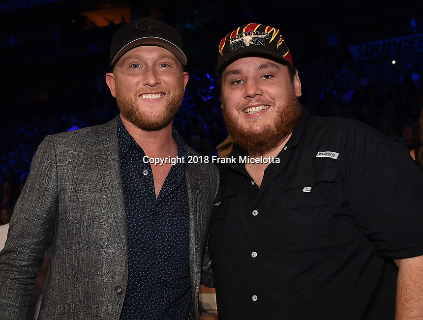 NASHVILLE, TN - JUNE 6: Luke Combs attends the 2018 CMT Music Awards at the Bridgestone Arena on June 6, 2018 in Nashville, Tennessee. (Photo by Frank Micelotta/PictureGroup)