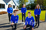 Castleisland Community College students who were the National Sophia Physics Winners, pictured at the school on Monday.<br /> Kneeling l to r: Hector Barromco and Gabriel Cladelles. Back l to r: Shauna Tagney, Sarah O'Connor and Bernadette O'Mahoney.