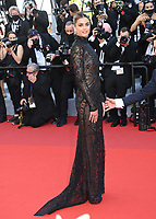 CANNES, FRANCE. July 10, 2021: Taylor Hill at the premiere of Peaceful (De Son Vivant) at the 74th Festival de Cannes.<br /> Picture: Paul Smith / Featureflash