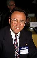 Montreal (Qc) Canada  file Photo - 1995- Yves Ducharme, Mayor Hull at U.M.Q. Convention.