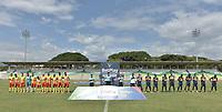 PALMIRA - COLOMBIA, 05-08-2021: Boca Juniors de Cali y Deportivo Pereira en partido de vuelta por la por la fase III como parte de la Copa BetPlay DIMAYOR 2021 jugado en el estadio Francisco Rivera Escobar de la ciudad de Palmira. / Boca Juniors de Cali and Deportivo Pereira in second leg match for the phase III as part of BetPlay DIMAYOR Cup 2021 played at Francisco Rivera Escobar stadium in Palmira city. Photo: VizzorImage / Gabriel Aponte / Staff