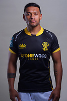 Tomasi Alosio. 2021 Wellington Lions official rugby headshots at Rugby League Park in Wellington, New Zealand on Monday, 26 July 2021. Photo: Dave Lintott / lintottphoto.co.nz