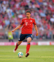 12.05.2018, Football 1. Bundesliga 2017/2018, 34.  match day, FC Bayern Muenchen - VfB Stuttgart, in Allianz-Arena Muenchen.  Mats Hummels (Bayern Muenchen). *** Local Caption *** © pixathlon<br /> <br /> +++ NED + SUI out !!! +++<br /> Contact: +49-40-22 63 02 60 , info@pixathlon.de