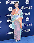 """Aya Ueto attends The World Premiere of Disney's """"Maleficent"""" held at The El Capitan Theatre in Hollywood, California on May 28,2014                                                                               © 2014 Hollywood Press Agency"""