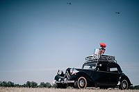 roadside: vintage tour cars<br /> <br /> 104th Tour de France 2017<br /> Stage 14 - Blagnac › Rodez (181km)