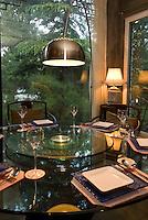 China, Peking (Beijing), Noble Restaurant  am Westufer des Houhai (Hinterer See)