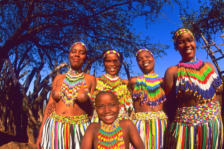 Native Zulu Tribe at Shakaland Center South Africa