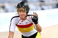 Corbin Strong finishes first  in the Men Elite Omnium Elimination during the 2020 Vantage Elite and U19 Track Cycling National Championships at the Avantidrome in Cambridge, New Zealand on Saturday, 25 January 2020. ( Mandatory Photo Credit: Dianne Manson )
