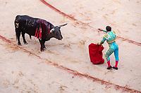 """europe,spain,navarra,Pamplona,matador Antonio Ferrera on """"stercio de muerte"""""""