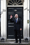© Joel Goodman - 07973 332324 . 11/05/2015 . London , UK . IAIN DUNCAN SMITH arrives at 10 Downing Street this afternoon (11th May 2015) . Photo credit : Joel Goodman