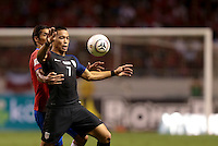 San Jose, Costa Rica - November 15, 2016: The U.S. Men's National team lose to Costa Rica 0-4 during Hexagonal round action in a World Cup Qualifying match at Estadio Nacional de Costa Rica.
