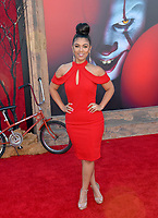 """LOS ANGELES, USA. August 27, 2019: Brandi King at the premiere of """"IT Chapter Two"""" at the Regency Village Theatre.<br /> Picture: Paul Smith/Featureflash"""