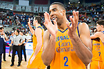 Herbalife Gran Canaria's player Richard Hendrix during the final of Supercopa of Liga Endesa Madrid. September 24, Spain. 2016. (ALTERPHOTOS/BorjaB.Hojas)