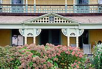 Cottage detail, Oak Bluffs, Martha's Vineyard, Massachusetts, USA