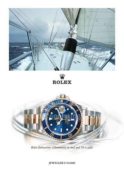 ROLEX-WORLDWIDE ADVERTISING