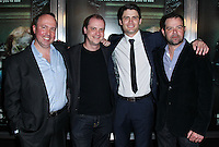 """HOLLYWOOD, LOS ANGELES, CA, USA - APRIL 03: Trevor Macy, Mike Flanagan, James Lafferty, Rory Cochrane at the Los Angeles Screening Of Relativity Media's """"Oculus"""" held at TCL Chinese 6 Theatre on April 3, 2014 in Hollywood, Los Angeles, California, United States. (Photo by Xavier Collin/Celebrity Monitor)"""