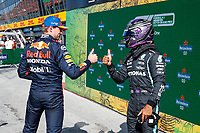 4th September 2021: Circuit Zandvoort, Zandvoort, Netherlands;   33 Max Verstappen NED, Red Bull Racing, 44 Lewis Hamilton GBR, Mercedes-AMG Petronas F1 Team, F1 Grand Prix of the Netherlands at Circuit Zandvoort