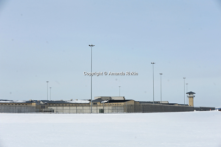 The Thomson Correctional Center is seen in tiny Thomson, Illinois on January 4, 2010. Thomson Correctional Center was an empty prison facility outside the town of 600 that is being revamped and rehabilitated in preparation for the possible incoming influx of prisoners from the U.S. detention facility for prisoners of the War on Terror currently held in Guantanamo Bay, Cuba.