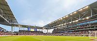 AUSTIN, TX - JULY 29: Q2 Stadium during a game between Qatar and USMNT at Q2 Stadium on July 29, 2021 in Austin, Texas.