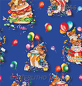 Interlitho, Michele, GIFT WRAPS, paintings, bears, party(KL7056,#GP#) everyday