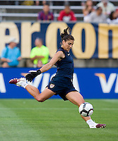 Hope Solo. The USWNT defeated Sweden, 3-0.