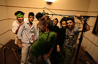 This so called gang of rappers is called: Hidden Mafia, their leader H-Steps says they sing about issues for the people of Tehran and they have a strong folowong in the southern, poorer suburbs of Tehran. Since the revolution of 1978, Iran has been living under strict Islamic rule. One law that has been enforced on iranian is banning the preformance of western music in public. Jazz, rock, hip hop, heavy metal and more have been deemed forbidden by the government. Despite threats od imprisonment, whipping and other punisments, Tehran youth defy the ban and continue to create music in underground studios. Some who are good enough are signed up by record companies overseas and eventually leave Iran for more prosperous oppportunities in the West. But some are ademant about staying in Iran and trying to build a music scene under the increasingly difficult condtions.