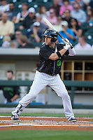 J.B. Shuck (30) of the Charlotte Knights at bat against the Columbus Clippers at BB&T BallPark on May 3, 2016 in Charlotte, North Carolina.  The Clippers defeated the Knights 8-3.  (Brian Westerholt/Four Seam Images)