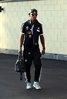 Wednesday 28 August 2013<br /> Pictured: Jonathan de Guzman at the Swansea training ground.<br /> Re: Swansea City FC players and staff en route for their UEFA Europa League, play off round, 2nd leg, against Petrolul Ploiesti in Romania.