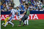 Real Sociedad's David Zurutuza celebrate goal during La Liga match. August 24, 2018. (ALTERPHOTOS/A. Perez Meca)