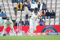 Ravindra Jadeja, India clips square of the wicket during India vs New Zealand, ICC World Test Championship Final Cricket at The Hampshire Bowl on 20th June 2021