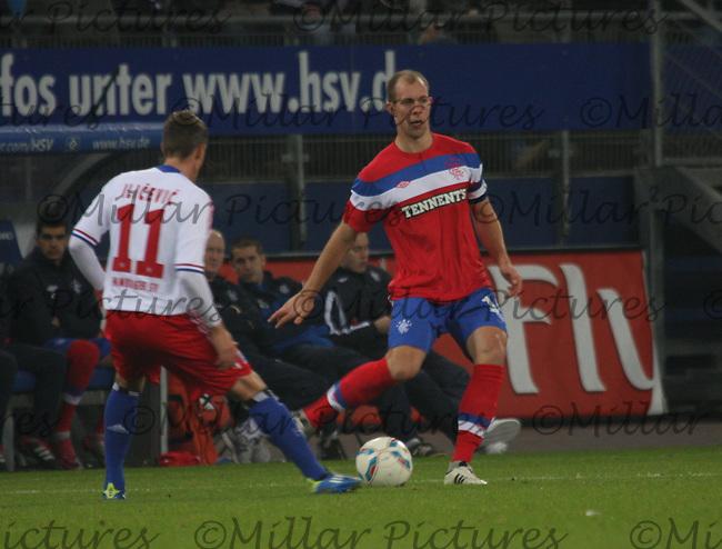 Hsv Hamburg V Rangers Millar Pictures