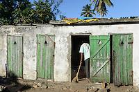 MADAGASCAR, Mananjary, public toilet / MADAGASKAR Mananjary, oeffentliche Toilette