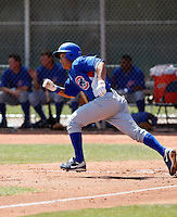 Darwin Barney - Chicago Cubs 2009 spring training.Photo by:  Bill Mitchell/Four Seam Images
