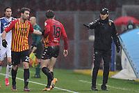 Filippo Inzaghi coach of Benevento Calcio gestures during the Serie A football match between Benevento Calcio and Atalanta BC at stadio Ciro Vigorito in Benevento (Italy), January 09, 2021. <br /> Photo Cesare Purini / Insidefoto