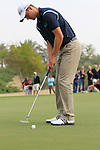 Martin Kaymer putts on the 10th green during Day 3 Saturday of the Abu Dhabi HSBC Golf Championship, 22nd January 2011..(Picture Eoin Clarke/www.golffile.ie)
