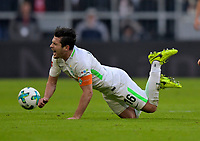 21.01.2018,  Football 1.Liga 2017/2018, 19. match day, FC Bayern Muenchen - SV Werder Bremen, in Allianz-Arena Muenchen. Zlatko Junuzovic (SV Werder Bremen) dejected. *** Local Caption *** © pixathlon<br /> <br /> +++ NED + SUI out !!! +++<br /> Contact: +49-40-22 63 02 60 , info@pixathlon.de