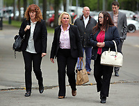 2017 04 24 Melissa Pesticcio appears at Cardiff Crown Court, Wales, UK