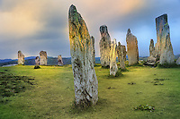SC - OUTER HEBRIDES - ISLAND OF LEWIS<br /> Unesco World Heritage Callanish Standing Stones<br /> <br /> Full size: 69,2 MB