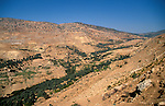 Jordan, a view of the Gilead near Ajlun&#xA;<br />