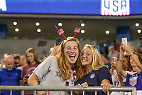 CHARLOTTE, NC - OCTOBER 03: Fans of the United States during a game between the USA and Korea Republic at Bank of American Stadium, on October 03, 2019 in Charlotte, NC.