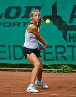 August 4, 2014, Netherlands, Dordrecht, TC Dash 35, Tennis, National Junior Championships, NJK,  Tess Menten (NED)<br /> Photo: Tennisimages/Henk Koster