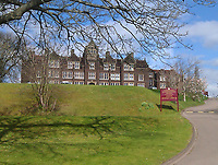 Pictured: Haberdashers' Monmouth School of Girls in south Wales, UK. <br />Re: Inquest to be held at Newport Coroner's Court, into the death of 18 year old Hei Tung Chan, originally from Hong Kong, who was a student at Haberdashers' Monmouth School of Girls in south Wales, UK.