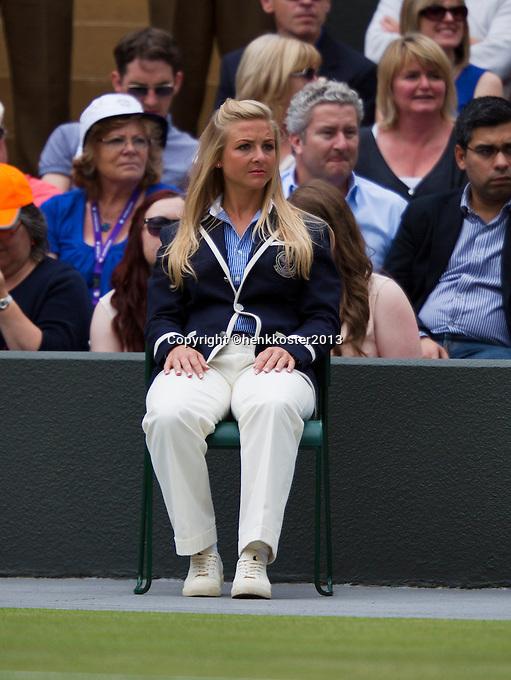 03-07-13, England, London,  AELTC, Wimbledon, Tennis, Wimbledon 2013, Day nine, <br /> <br /> <br /> <br /> Photo: Henk Koster